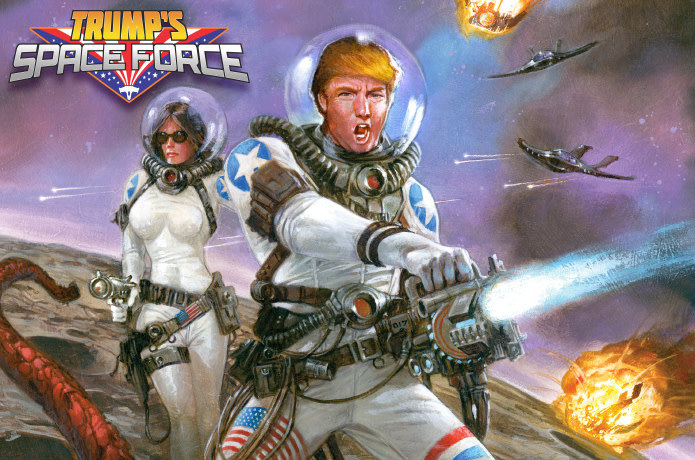 Image result for trump's space force