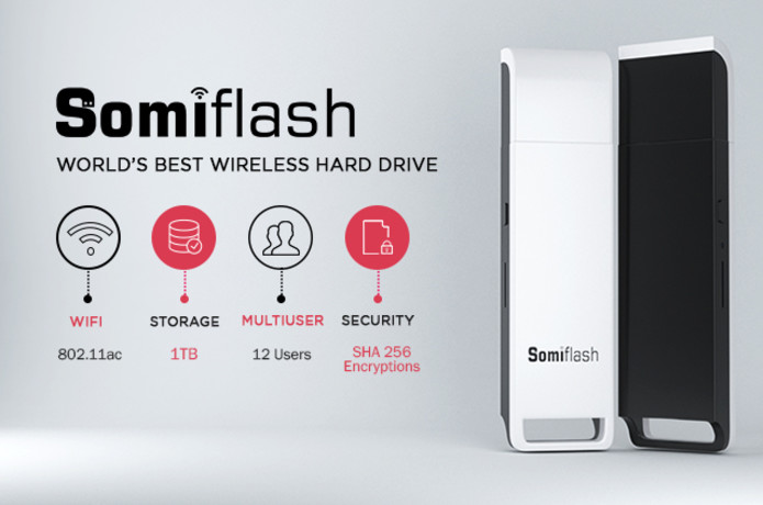 Somiflash: World's Smartest 1TB flash Drive.