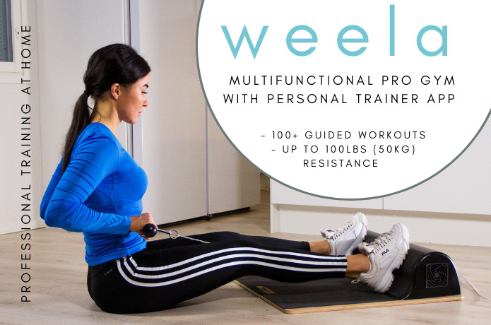 Weela pro gym pt app with workouts at home indiegogo