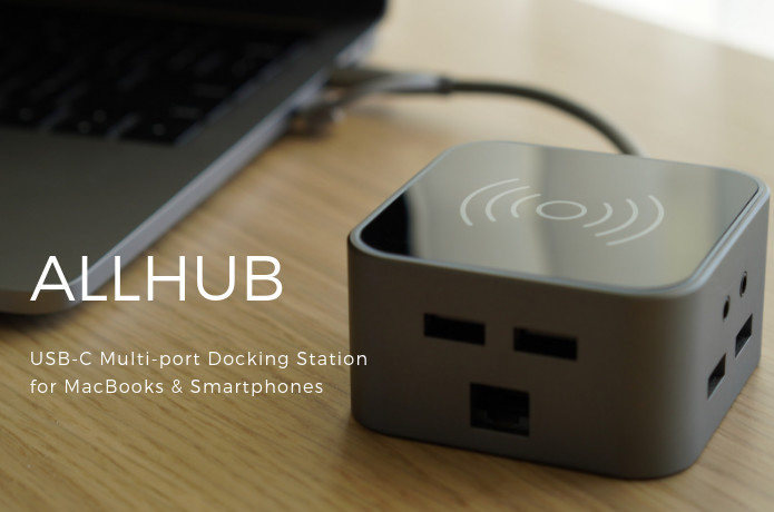 AllHub: The Most Powerful USB-C Docking Station