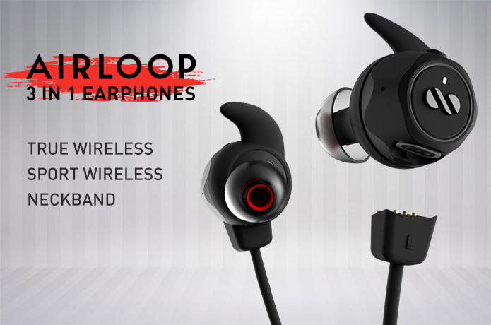 AirLoop: The First 3-In-1 Convertible Earbuds