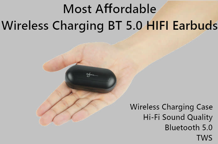 Most Affordable Wireless Charging BT 5.0 Earbuds