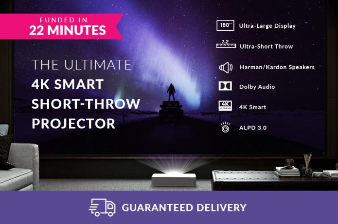 VAVA 4K Ultra Short Throw Laser Projector | Indiegogo