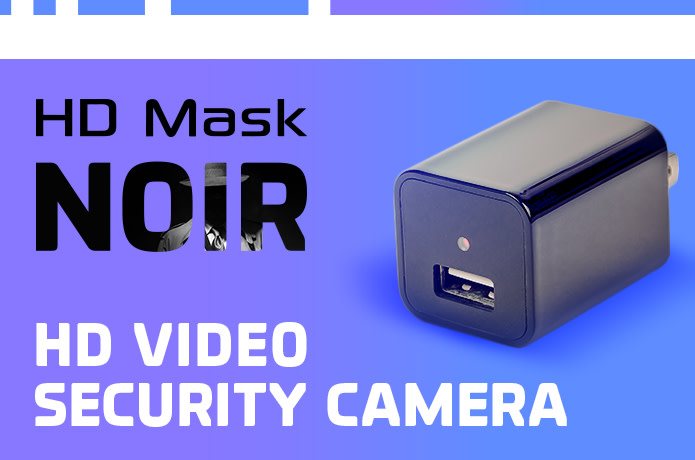 NOIR: Discreet Security Camera and USB Charger | Indiegogo