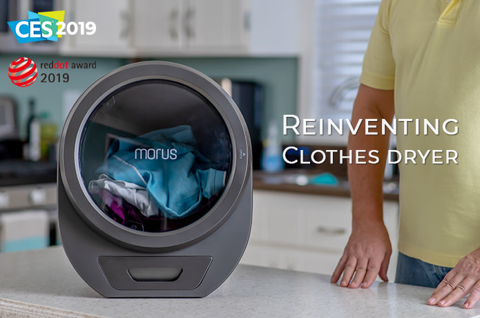 Morus Zero - Ultrafast countertop tumble dryer