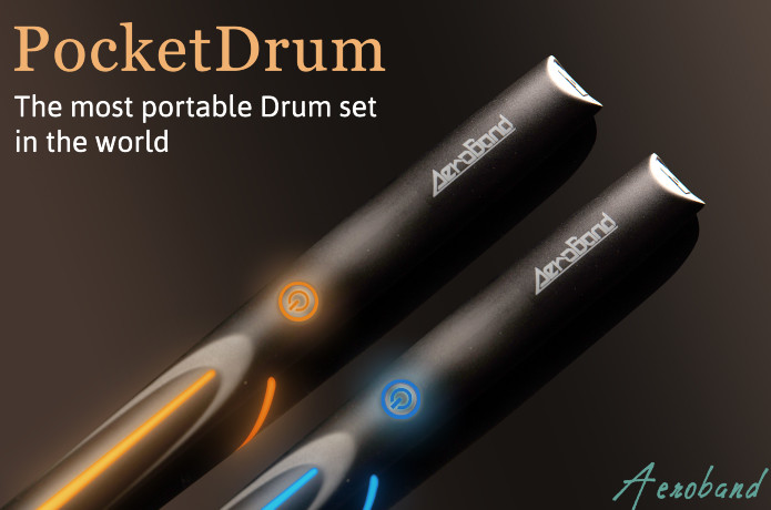 PocketDrum: The Most Portable Drum Set Ever