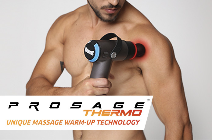 Prosage Thermo: Percussion Massager with Warm-Up