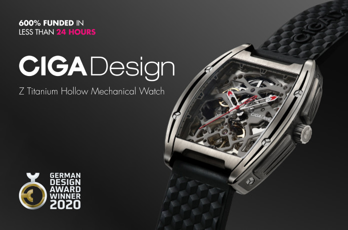 CIGA Design Z-Series Mechanical Titanium Watch
