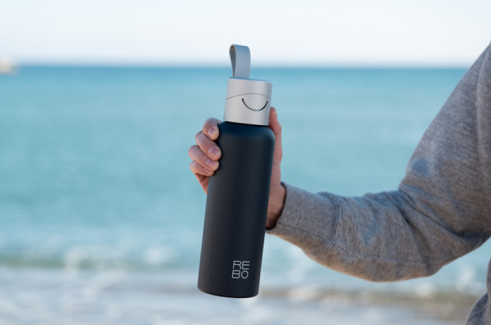 REBO smart bottle - clean the planet as you drink | Indiegogo