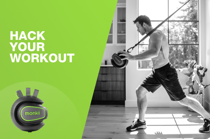 Monkii 360: 4 min workout better than 1 hour run