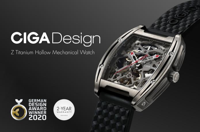 CIGA Design Z-Series Mechanical Titanium Watch | Indiegogo