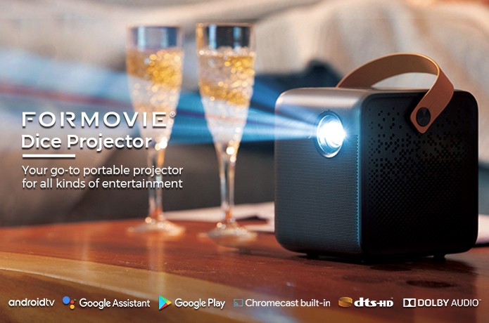 Formovie Dice: The Brightest 1080P Mini Projector