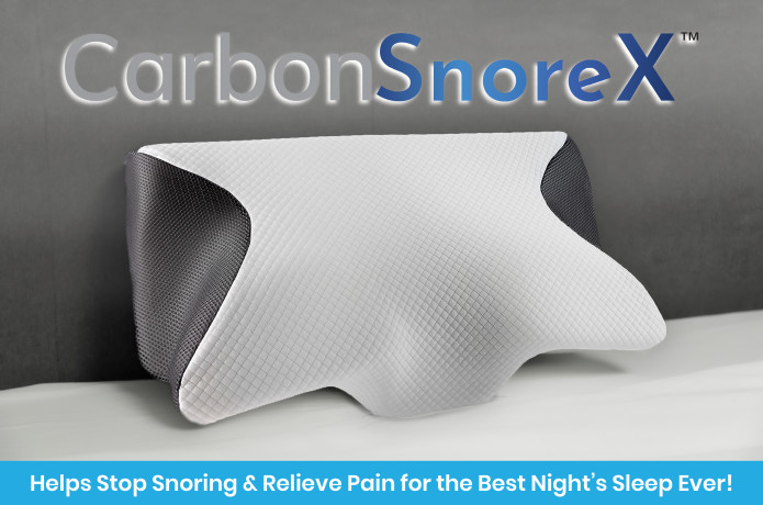 Carbon SnoreX PILLOW