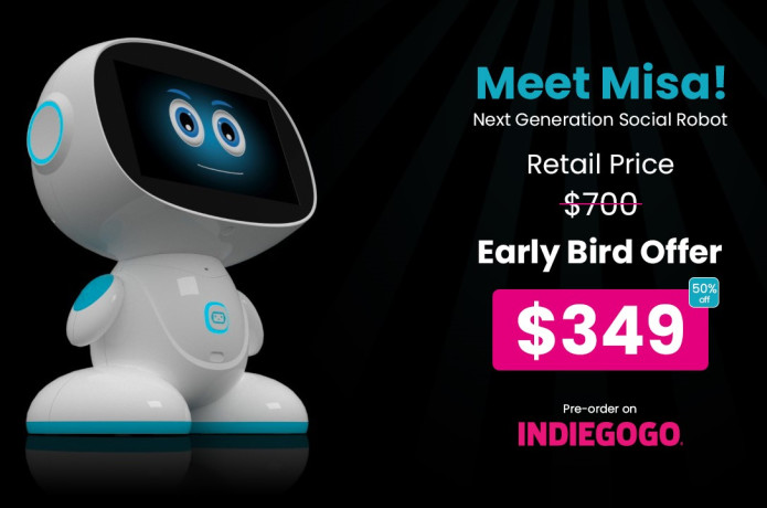 Misa: The Next Generation Social Family Robot