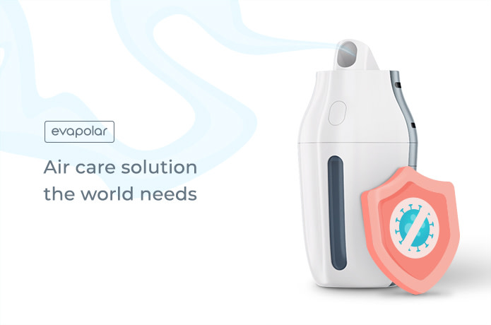 evaPure: Personal Air Disinfector and Oxygenizer