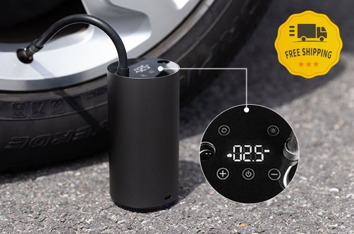 MOJIETU Lightning-A Smart & Portable Tire Inflator