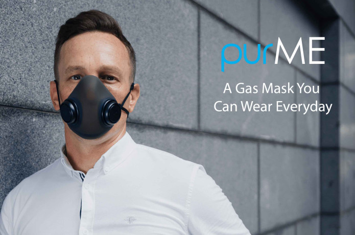 purME - A Gas Mask You Can Wear Everyday