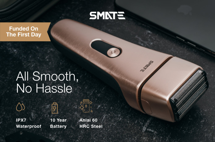 SMATE 360 - The Most Efficient, Long-Lasting Razor