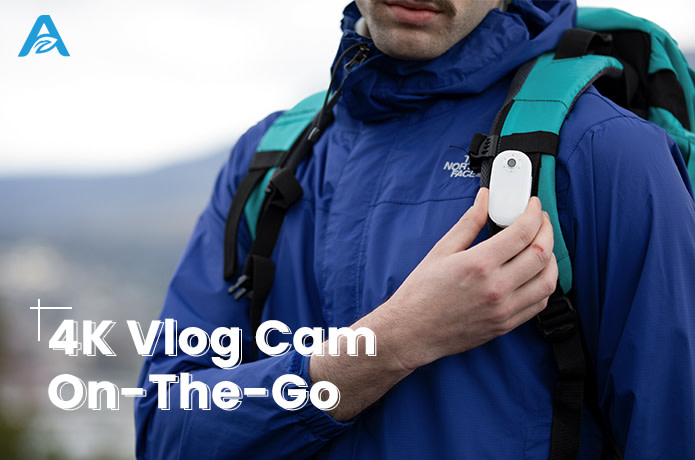 AKASO Keychain: The Smartest 4K Vlog Cam On-The-Go