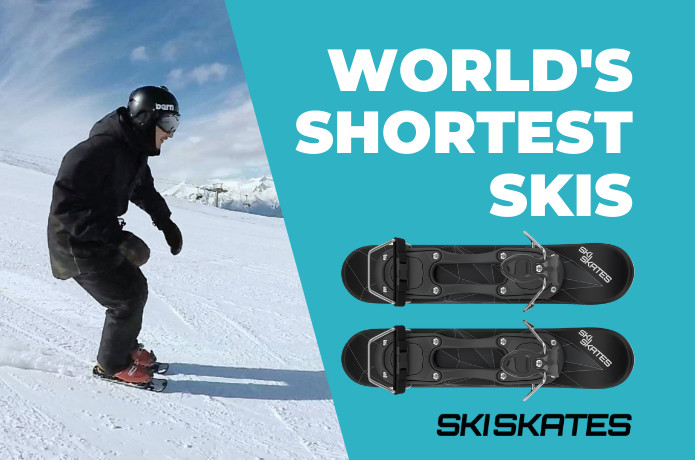 Skiskates 2 - World's Shortest Skis