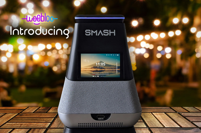 WooBloo SMASH: Portable 300 Lumens Smart Projector