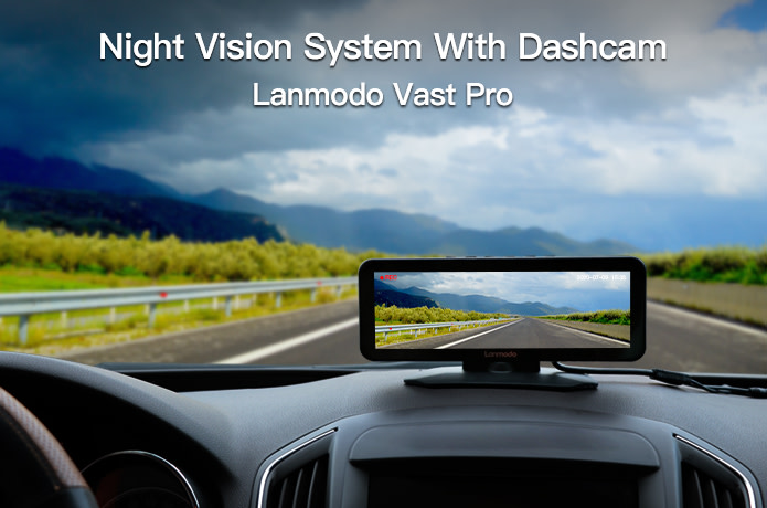 Lanmodo Vast Pro: Night Vision System with Dashcam