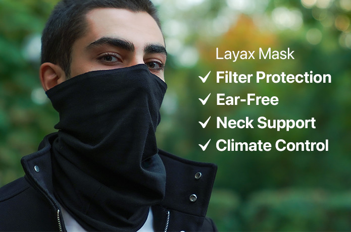 Layax Mask: Weather Adjustable Protection
