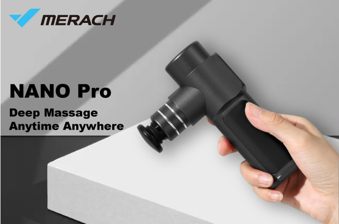 NANO Pro-The Smallest and Powerful Massage Gun