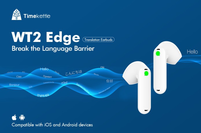 Timekettle WT2 Edge: 1st 2-Way Translation Earbuds