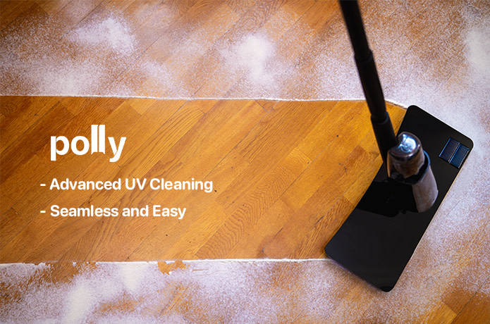 Polly: The Solar-Powered UV Cleaning