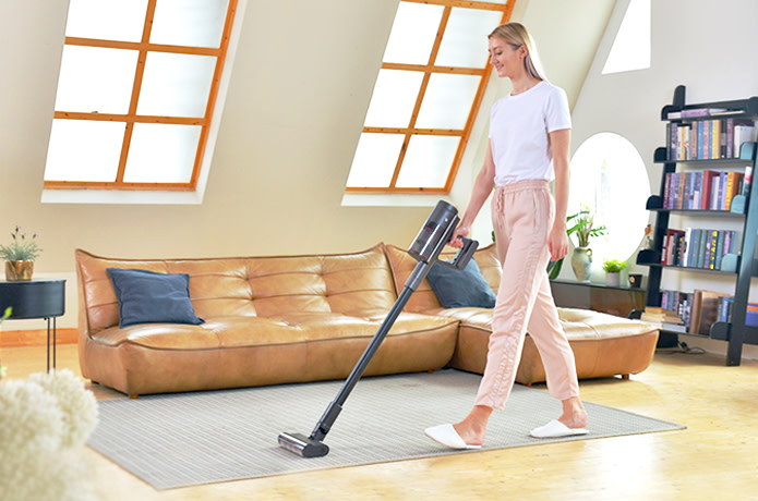 SHUNZAO: Hair Self-Cutting Cordless Vacuum Cleaner