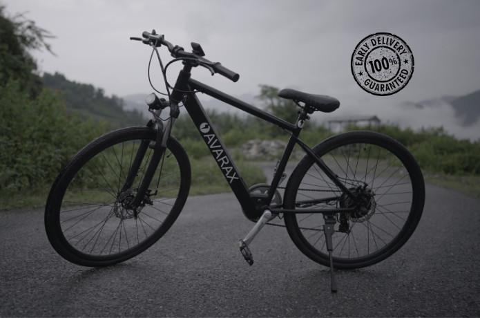 Avarax-E - Self-Cleaning & Most Affordable E-bike