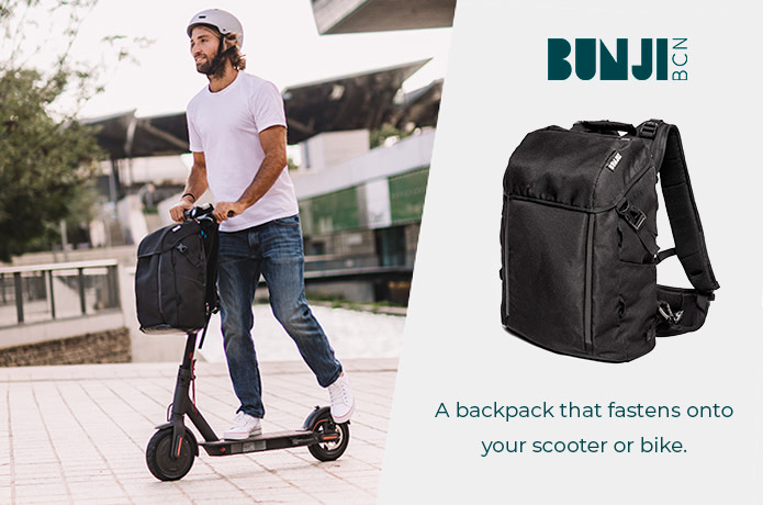 Bunji: A 5 in 1 backpack for sustainable commuters