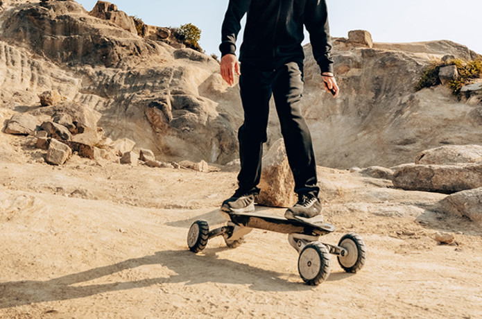 World's Most Balanced All-Terrain Electric Board