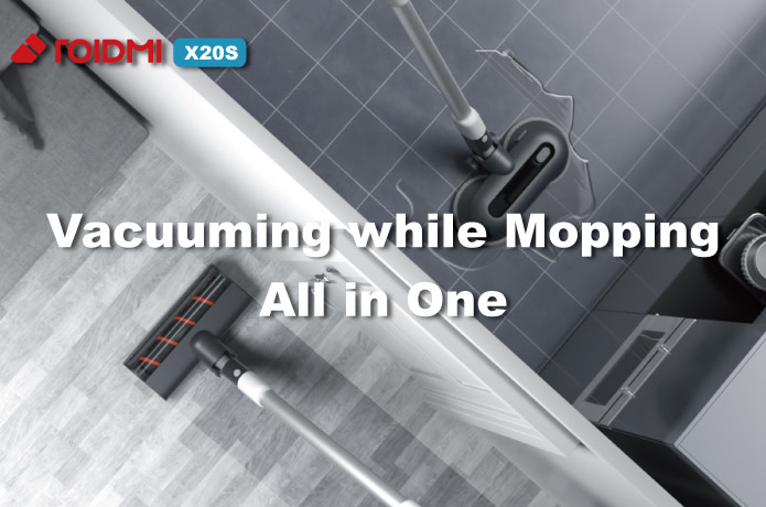 ROIDMI X20S - Self Cleaning Mop & Vacuum 2 in 1