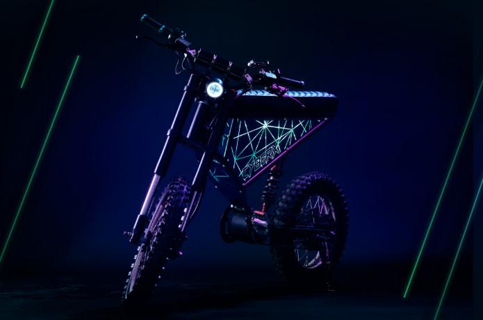 XION CyberX - 50MPH, 100-Mile Range Custom eBike | Indiegogo