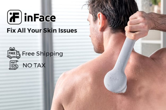 inFace Smart Body Cleansing Brush