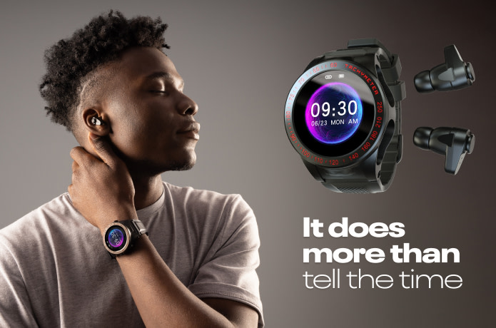 Wearbuds Watch: Smartwatch that houses its earbuds
