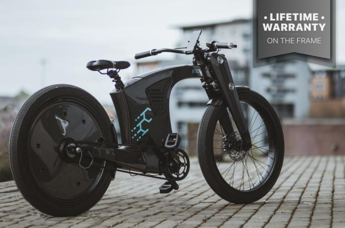 CrownCruiser - Carbon Fiber e-Bike