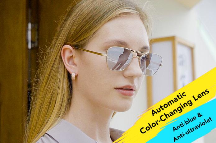 Next-Gen Folding Automatic Film Change Sunglasses