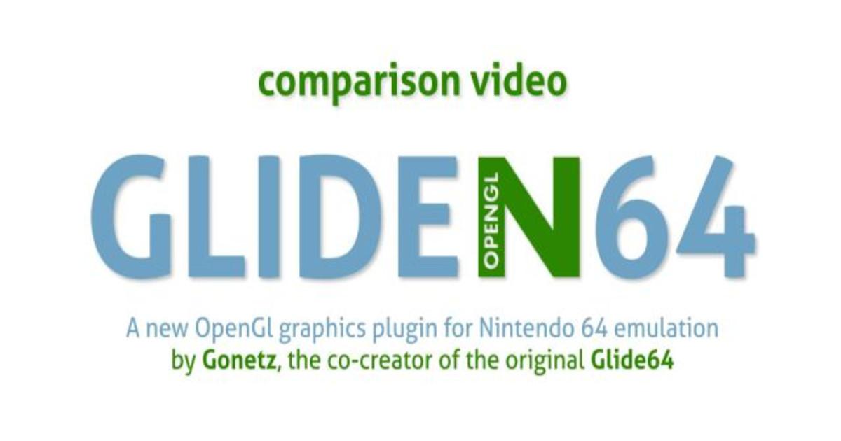 GLideN64 graphics plugin | Indiegogo