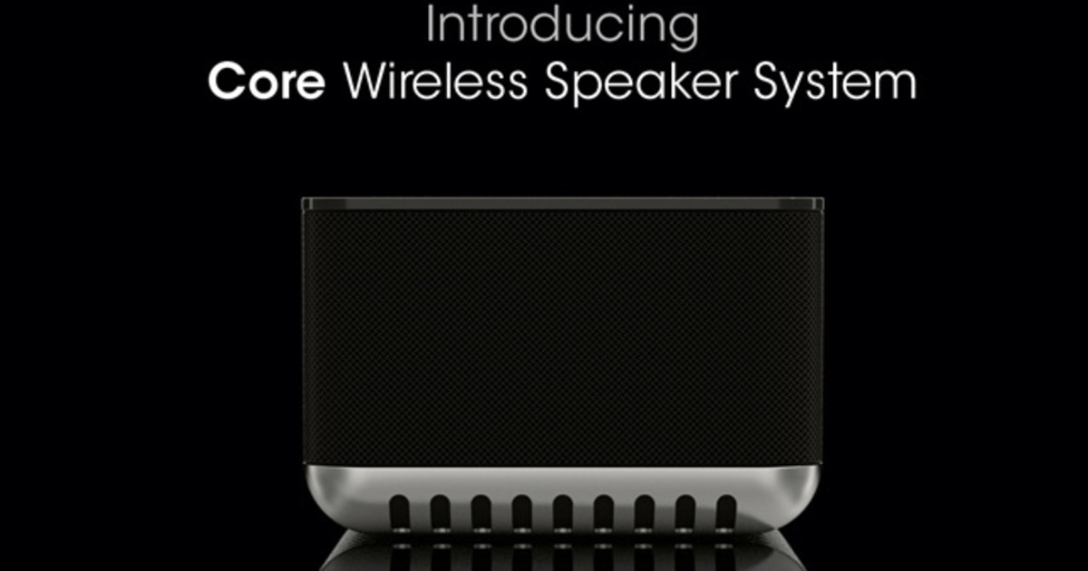 The core wireless speaker system indiegogo thecheapjerseys Gallery