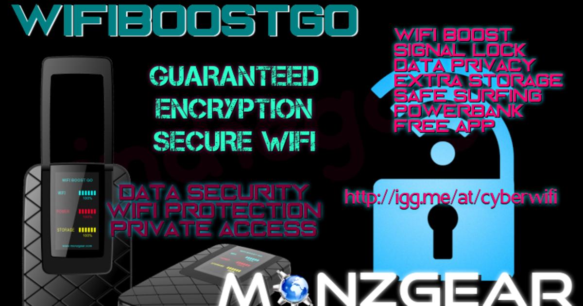 WiFiBoostGo: Smartphone Signal and Power Booster | Indiegogo