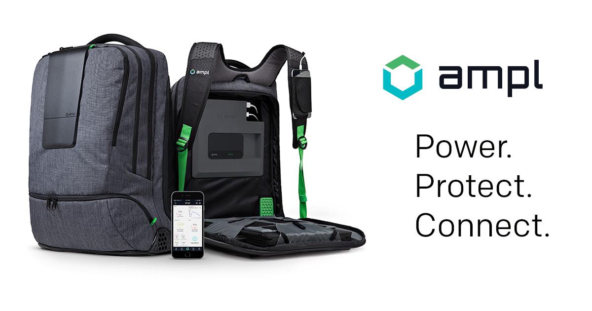 d4c77dfc2d255e AMPL - The World's Smartest Backpack   Indiegogo