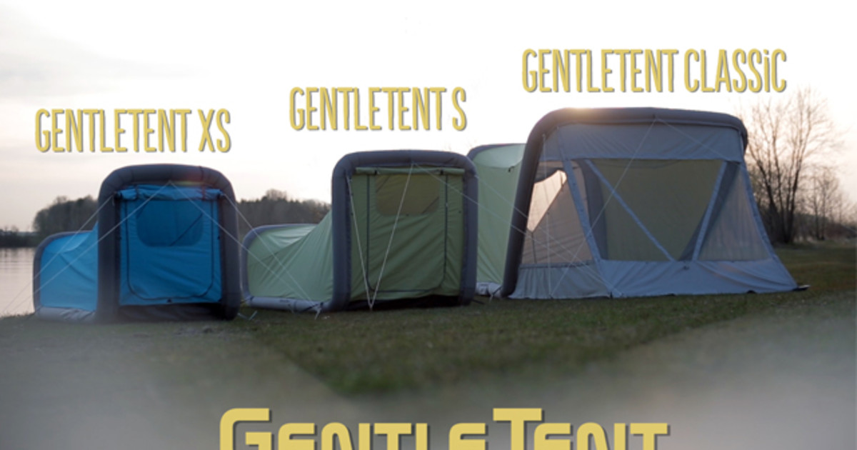 1fbc185358 Gentletent - Airtents To Make Camping Easier