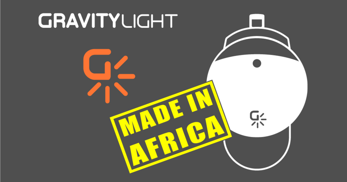 GravityLight 2: Made in Africa