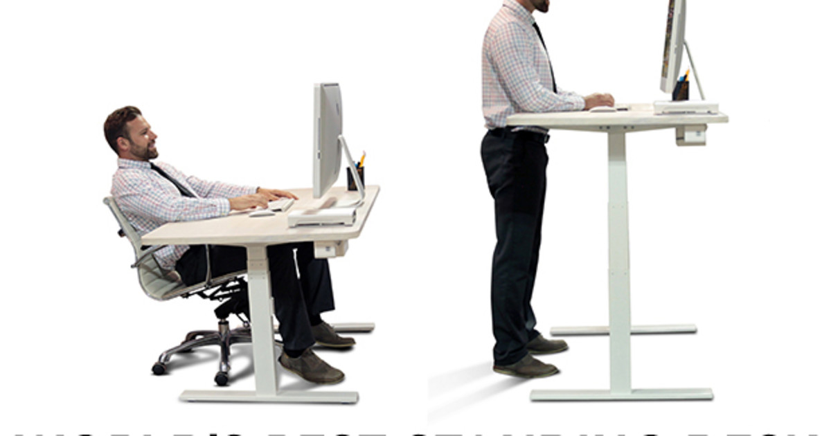 sitting standing healthy working or desk for treadmill
