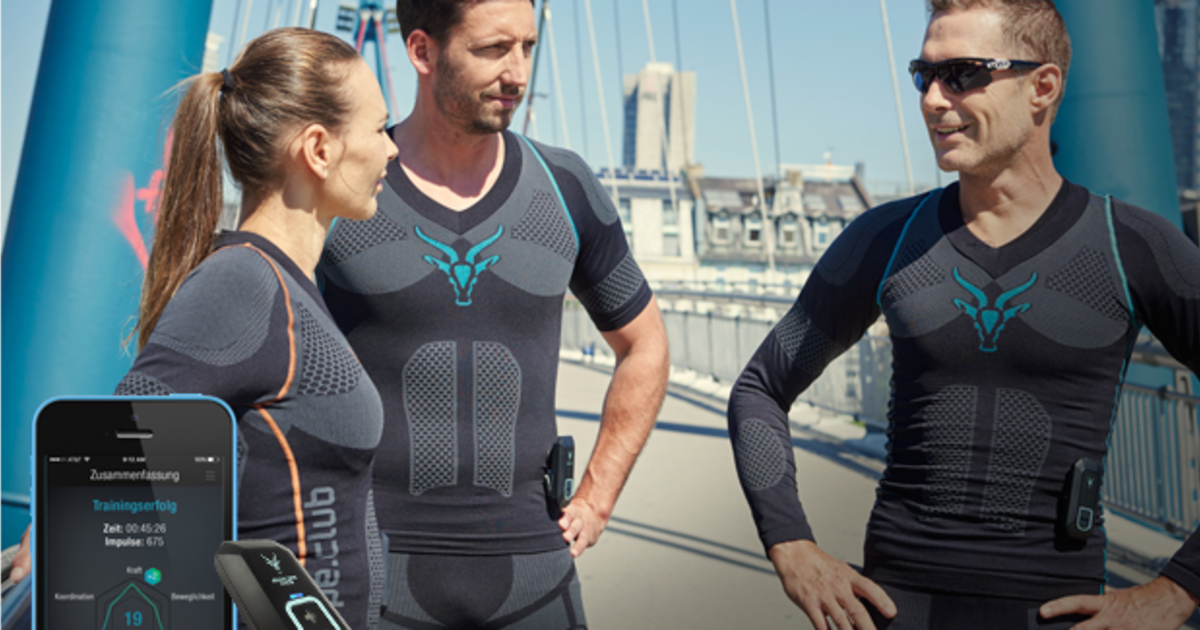 ANTELOPE Sportswear: Muscle Activating Smartsuit | Indiegogo