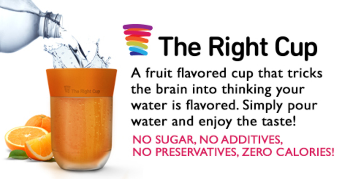 The Right Cup: Trick Your Brain, Drink More Water!
