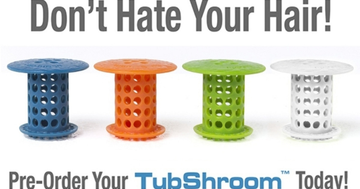 Tubshroom World S Best Strainer Hair Catcher Indiegogo